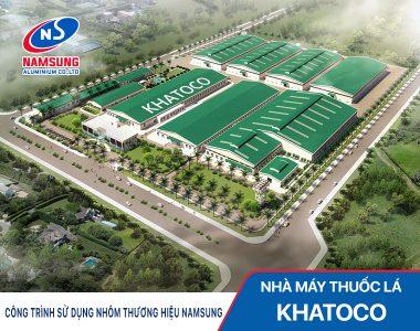 Nhà máy thuốc lá KHATOCO Khánh Hòa