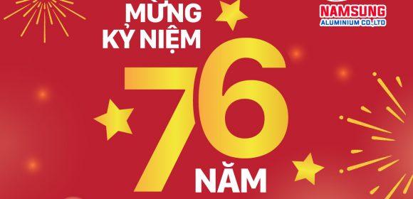 kỉ niệm 76 năm quốc khánh